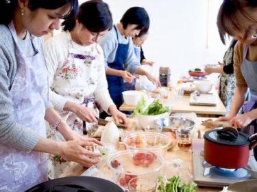 やっぱり、好きなんだ。これからは世界を舞台に。料理教室は私のライフワーク