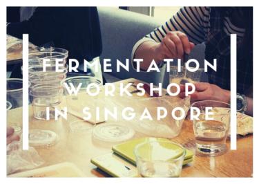 【10月シンガポール開催・募集終了】日本の発酵を深めよう!塩麹&醤油麹作り/発酵スイーツ作りワークショップ