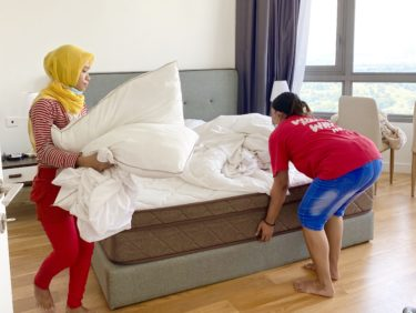 遠慮なく家事は甘える宣言。家事は、料理しかしてません。@マレーシア