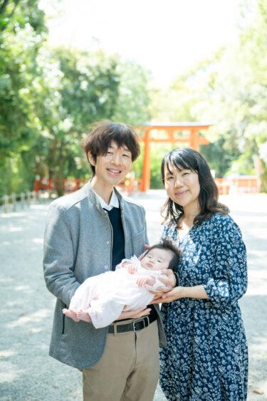 娘が生まれて3ヶ月。下鴨神社にお宮参りに行ってきました。<前半>