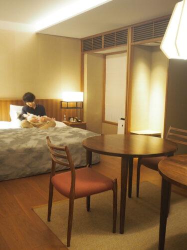初・子連れお泊まり旅行に行ってきました。@THE HIRAMATSU 京都